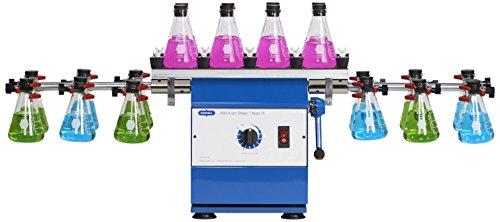 Burrell Scientific 075-765-20-36 Wrist Action Shaker with Top Platform, Model 75-CT, Blue/White