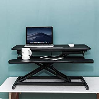 Adjustable Computer Table Keyboard Holder Height Sit Stand Table Foldable Laptop Table Lifting Table Sedentary Strong Bear...