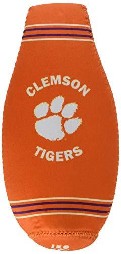 Logo Brands Clemson Crest Logo Bottle Coozie, Team Color, One Size
