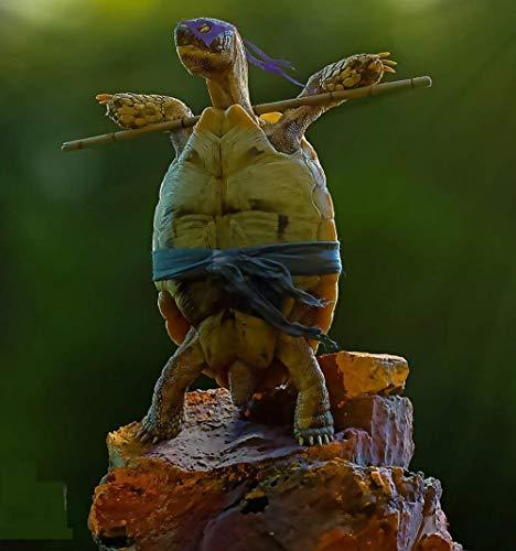 LIUWW Adultos Puzzle 1000 Piezas DIY Clásico Rompecabezas de Madera para Niños Educativo Puzzles descompresión de Interesantes Juguete-Tortugas Ninjas Mutantes Adolescentes