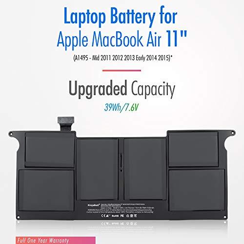 NinjaBatt Laptop-Akku A1465 A1370 für Apple MacBook Air 11