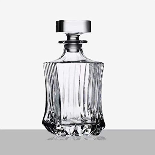 Decantador de Whisky Set Regalos para Hombres Decantador de Vino Vaso de Cristal Botella de Whisky Decantador de Vino 800ml (Color: # 2)