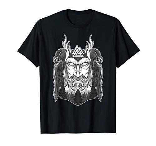 Krieger Odin's Raben - Nordische Mythologie & Wikinger T-Shirt