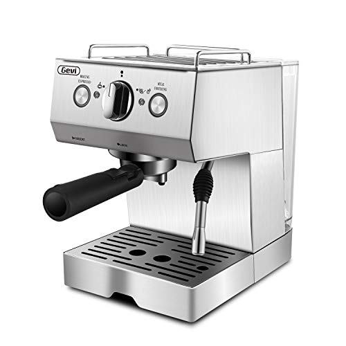 Espresso Machines 15 Bar Coffee Machine with Milk Frother Wand for Espresso, Cappuccino, Latte and...