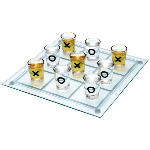 Shot Glass Tic Tac Toe