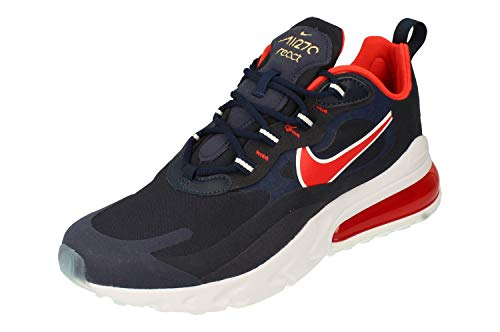 Nike Air Max 270 React - Midnight Navy/Chile red-Obsidian-wh, Größe:8