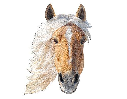 MADD 3010-IAMHorse CAPP 883010 Shape Puzzle Pferd, Konturpuzzle 550 Teile, für Kinder und Erwachsene, Mehrfarbig