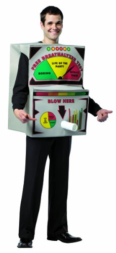 Rasta Imposta Breathalyzer Costume, Multi-Colored, One Size