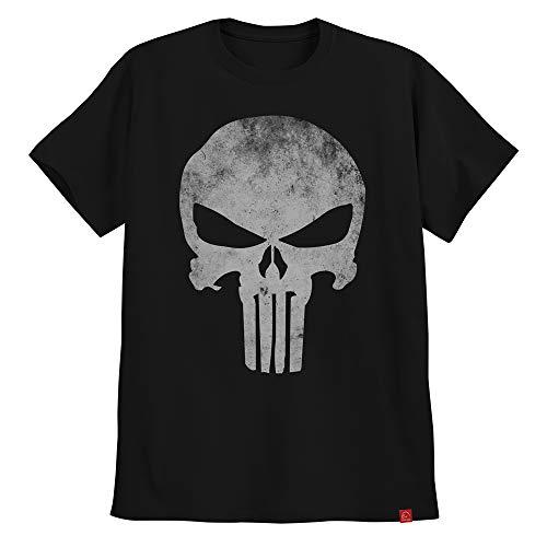 Camiseta O Justiceiro The Punisher Caveira Clássica G