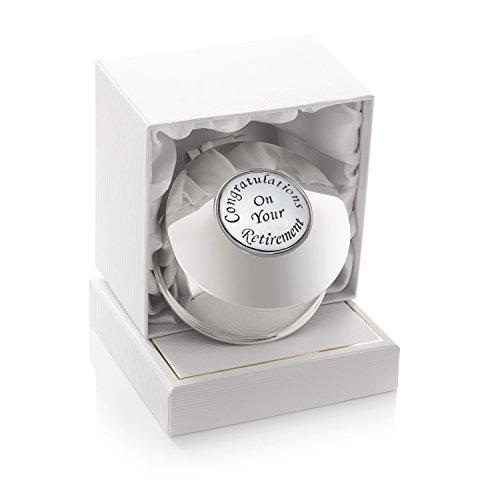 De Walden - Joyero bañado en plata para mujer