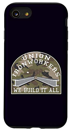 iPhone SE (2020) / 7 / 8 Union Ironworker Camouflage Graphic Laborer Gift Case