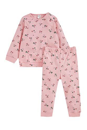 DeFacto Babyflicka vanlig stickad uppsättning, babykläder, första nyårs-baby-outfit