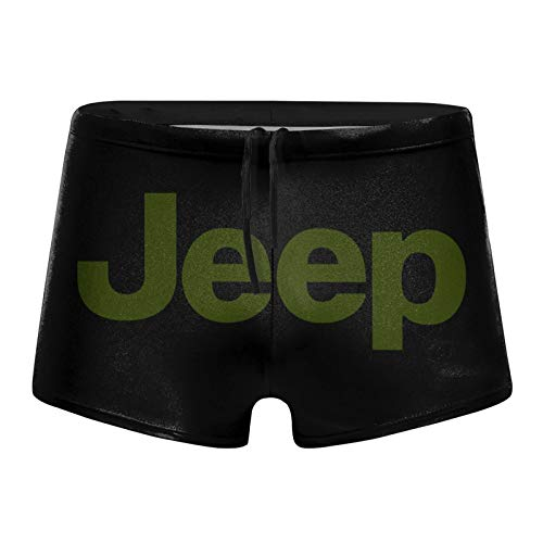 Aiier Je-Ep Logo Green Herren Badeanzug Shorts Trunks Badebekleidung Boxershorts