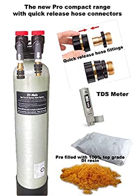 The Clean Garage D.I. Rinse DI Pro 50 Compact Deionized Water Spot Free Car Wash System Free TDS Meter & Quick Connects