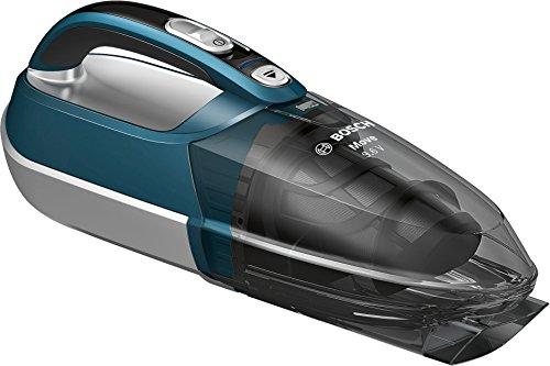Bosch BHN09070 Sin bolsa Azul, Plata - Aspiradora (Secar, Sin bolsa, Azul, Plata, 9 min, 16 h, 9,6 V)