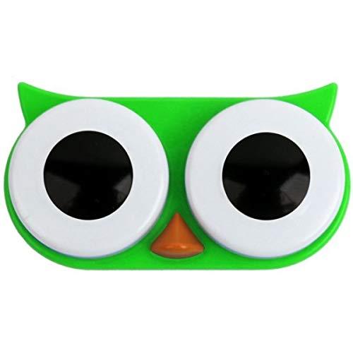 Kikkerland Kontaktlinsenbox Eule grün MG00AG