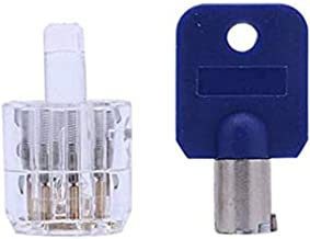 Lock Pick Set Detainer Hangslot Picking Tool, Bump Key Tool Slotenmaker Gereedschap Lock Picks Set Transparant Training Ha...