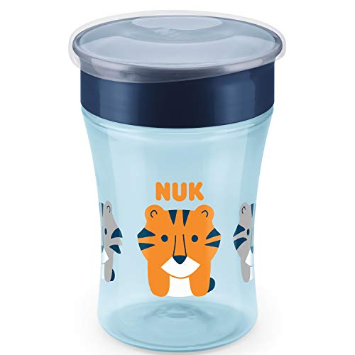 NUK Magic - Taza antiderrame (230 ml), color azul