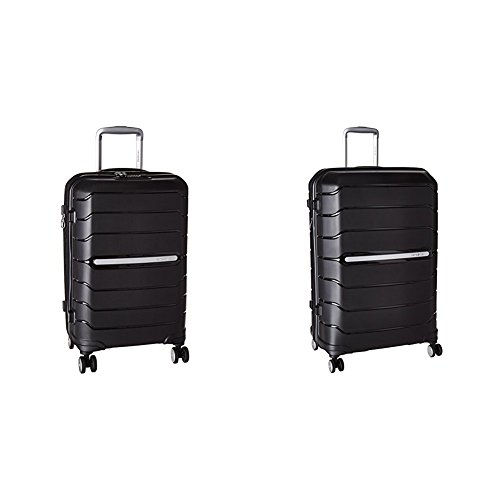 Samsonite Freeform Hardside Two-Piece Spinner Set (21'/28'), Black