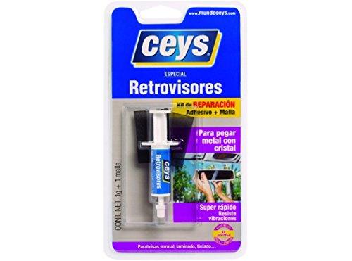 ceys CE501020 Adhesivo retrovisores jeringa, Azul, 0