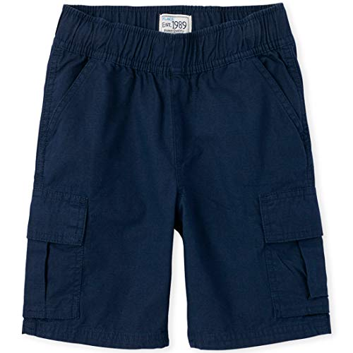 The Children's Place Big Boys' Pull-on Cargo Shorts, Tidal, 16H