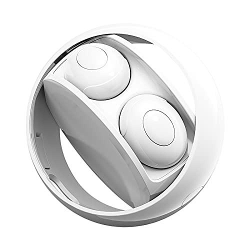 Auriculares Inalámbricos Giratorios Auriculares Bluetooth 5 0 Auriculares Estéreo IPX6 con Pantalla Digital Impermeables 12 Horas de Reproducción para Juegos/Correr 3D Touch para