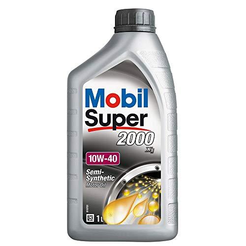 5X 1 L Liter Mobil Super™ 2000 X1 10W-40 Motor-Öl Motoren-Öl