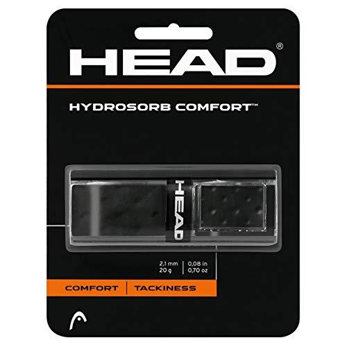HEAD Unisex-Erwachsene Hydrosorb Comfort Griffband, Black, Einheitsgröße