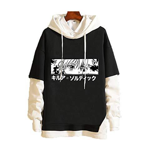 Meelanz Japanese Anime Hoodie Pullover Sweatshirt Long Sleeve Cosplay Costume for Men Women