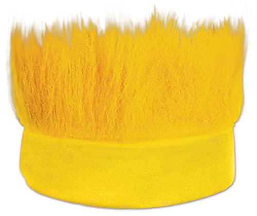 Beistle Yellow Hairy Costume Headband-1 Pc