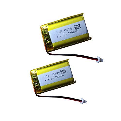 Batería recargable de 3,7 V 750 mAh para auriculares Bluetooth Sena 20S, 20S Evo y auriculares inalámbricos Marshall