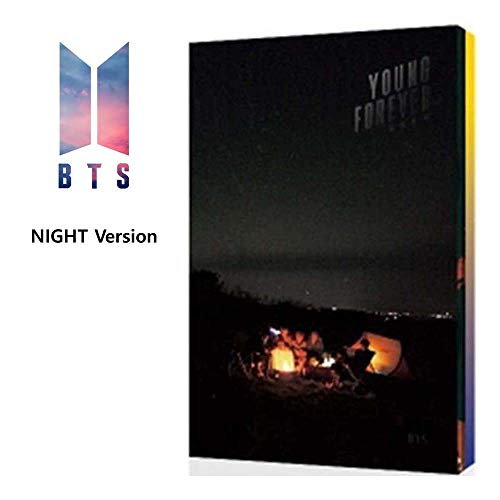 BTS Young Forever (Night Version) In The Mood For Love Special Bangtan Boys Album 2 CDs+Poster+Photobook+Polaroid Card+Gift (Extra 6 Photocards Set)