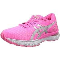 Asics Gel-Nimbus 22, Running Shoe Womens, Hot Pink/Pure Silver, 41.5 EU