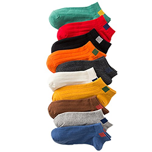 Borje Women's Ankle Socks 10-12 Pairs - Best Show Low Causal Socks Multicolor One Size