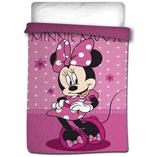 Colcha bouti termosellada Minnie Mouse para Cama de 90