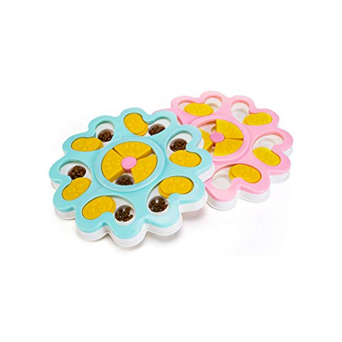 Product Image 7: Kismaple Dog Treat Puzzle. Activity Interactive Fun Game IQ Training Toy Food Dispensing Puzzle Slow Feeder Plate/Non-Slip.