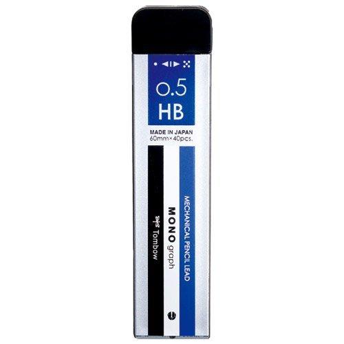 トンボ鉛筆 シャープ芯モノグラフMG 0.5HB R5-MGHB01 【10個セット】