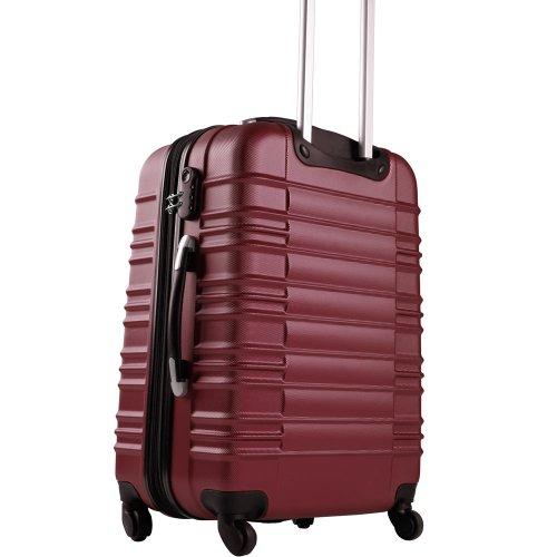 Vojagor Trolley valigia bagaglio a mano per viaggio verde S