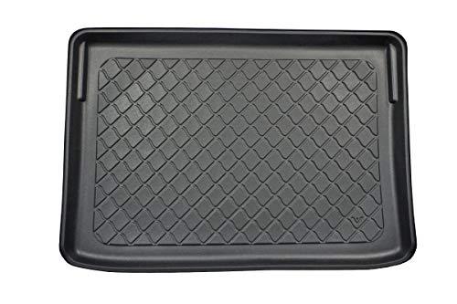 MDM Kofferraumwanne Crossland X 06.2017-, Kofferraummatten Passgenaue mit Antirutsch, Passend für erh. Ladeflaeche; Modelle mit Varioboden (Flex Floor), cod. 7481