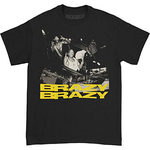 YG Men's Brazy Brazy T-Shirt Small Black