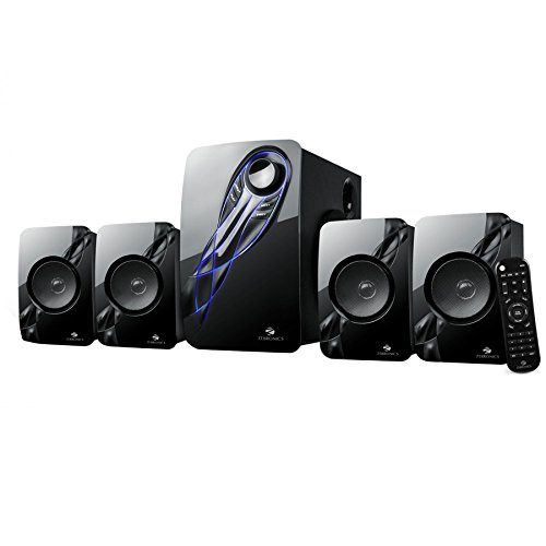 Zebronics Jelly Fish 4.1 Channel Multi Media Speaker (Black)