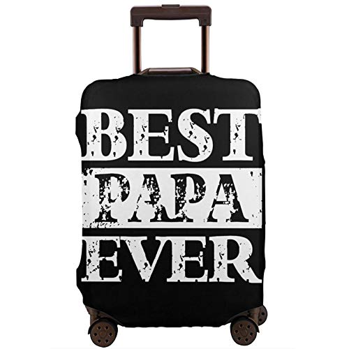 Jotaro Suitcase Protector Best Dad Ever Elastic Protective Washable Luggage Cover Luggage Sets for 18-32 Inch