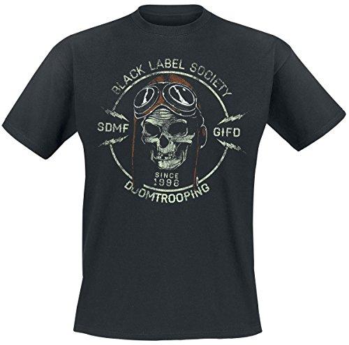 Black Label Society Doomtrooper T-shirt noir S