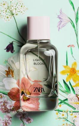 ZARA LIGHTLY BLOOM 100 ML INCLUDES NOTES OF LOTUS FLOWER PEONY AND MUSK AN ELEGANT, HYPNOTIC AND COZY FRAGRANCE 3.4 Fl.Oz EDPZ