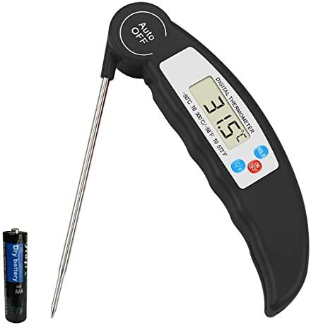 Meat Food Thermometer with Calibration Ultra Fast Digital Cooking Thermometer for Grilling BBQ product image