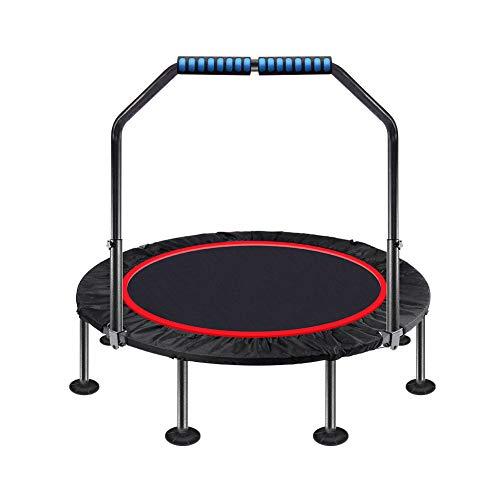 Mini Fitness Trampoline met verstelbare handgrepen, Kleine Gym Trampoline voor Indoor Fitness, Bungee Rebounder Jumping Cardio Trainer Workout