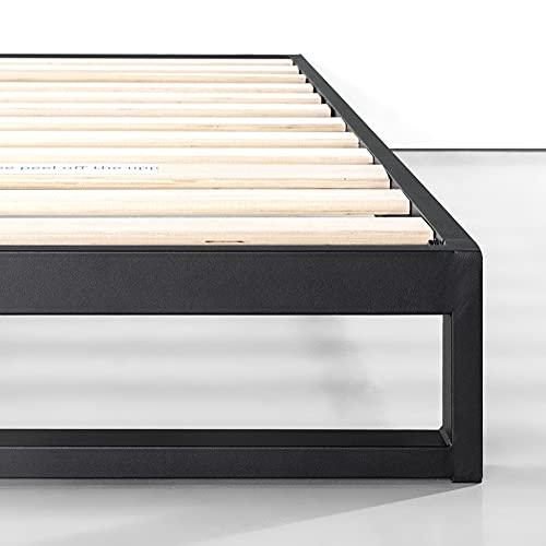 Zinus Trisha 7 Inch Heavy Duty Low Profile Platforma Bed Frame / Mattress Foundation / Box Spring Optional / Wood Slat Support, Queen