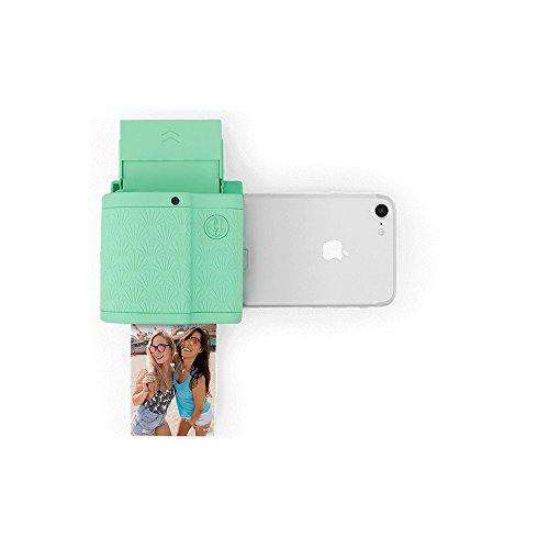 Prynt Pocket mintgroen, compacte iPhone-fotoprinter, instant camera