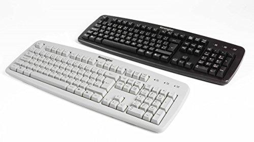 Kensington VALUKEYBOARD Black NL - Tastaturen (Standard, Verkabelt, USB + PS/2, QWERTY, Schwarz)