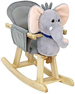 rocking elephant wooden